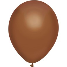 Ballonnen Uni Chocola 100st. 30cm