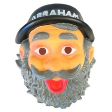 Masker Abraham met Hoedje Plastic