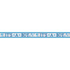 Foliebanner It's A Boy Babyshower