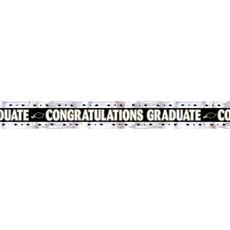 Foliebanner Geslaagd/Graduation - 275 cm