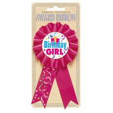Rozet Birthday Girl
