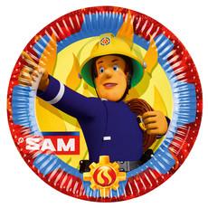 Bordjes Brandweerman Sam - 8 Stuks