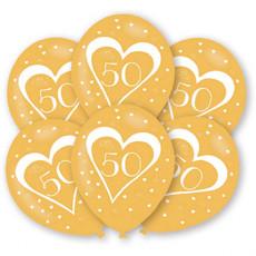 Ballonnen Jubileum 50 Jaar Goud
