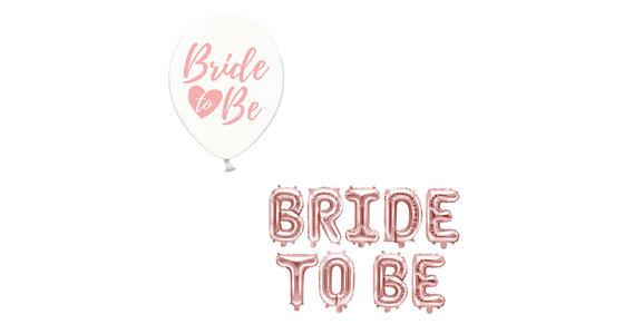 Bride To Be Ballonnen