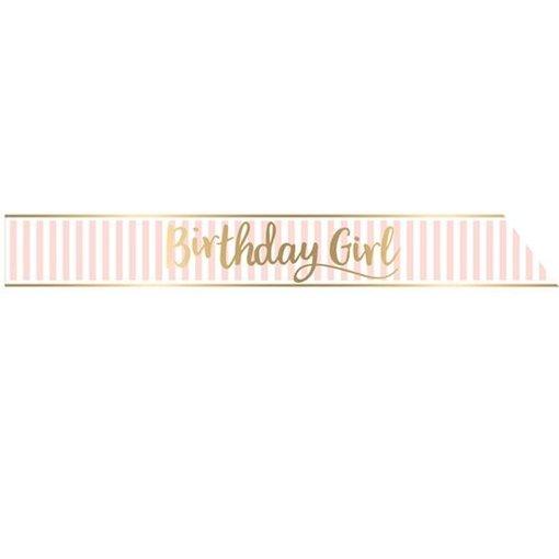 Sjerp Birthday Girl Roze/Goud