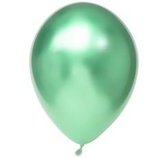 Chrome Ballonnen Mint Groen- 50 Stuks