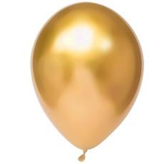 Chrome Ballonnen Goud - 50 Stuks