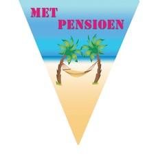 Vlaggenlijn 'Met Pensioen' - 5m