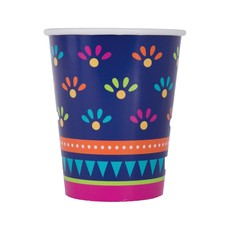 Mexicaanse Party Bekers Boho Fiësta - 8 Stuks