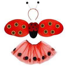 Verkleedset lieveheersbeestje 3-delig
