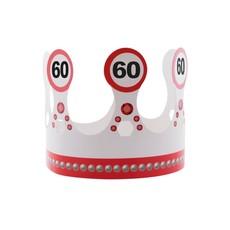 Kroon 60 jaar Verkeersbord