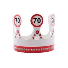 Kroon 70 jaar Verkeersbord
