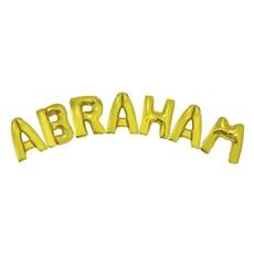 Folieballonnen Set Abraham Goud Groot