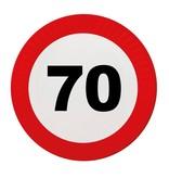 70 Jaar Verkeersbord Borden - 8 stuks