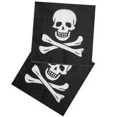 12 piraten servetten Classic