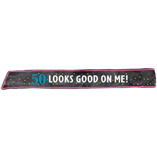 Sjerp verjaardag 50 Jaar ´looks good on me´