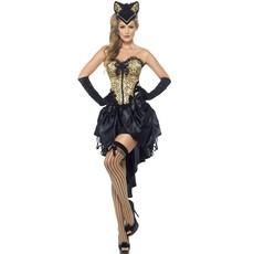 Burlesque Katten kostuum