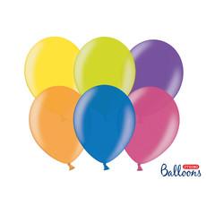 Metallic ballonnen kleurenmix - 100 Stuks