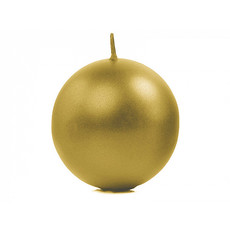 Bolkaars metallic goud - 6cm