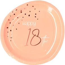 Borden 18 Jaar Elegant Blush (8st)