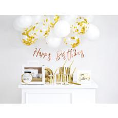 Gouden Decoratieset Verjaardag