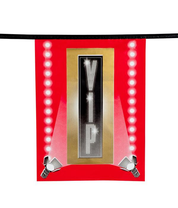 Vlaggenlijn Hollywood VIP (6m)
