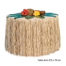 Tafelrok naturel hawaii - 275x70 cm