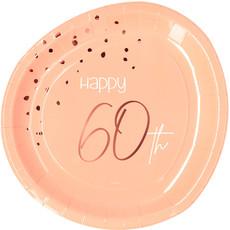 Borden 60 Jaar Elegant Blush (8st)