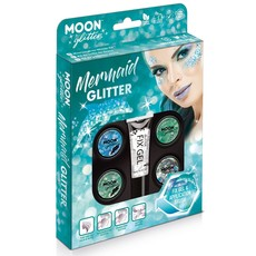 Moon Mermaid Glitter Set - 6 Delig