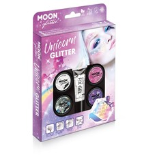 Moon Unicorn Glitter Set - 6 Delig