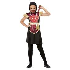 Ninja Warrior Kostuum Meisje