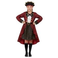 Piraten kostuum Bourgondisch Meisje