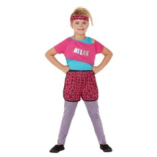 Workout Jaren 80 Outfit Relax Pink Kind