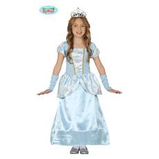 Prinsessenjurk Isabella Blauw