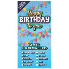 Tissuebox Happy Birthday