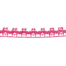 Papieren Slinger Flamingo (2.5m)