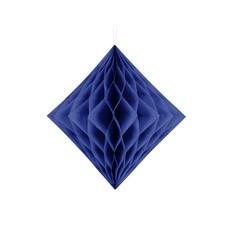 Honeycomb Diamant Navy Blauw (20cm)