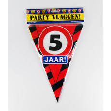 Party Vlaggenlijn - 5 Jaar