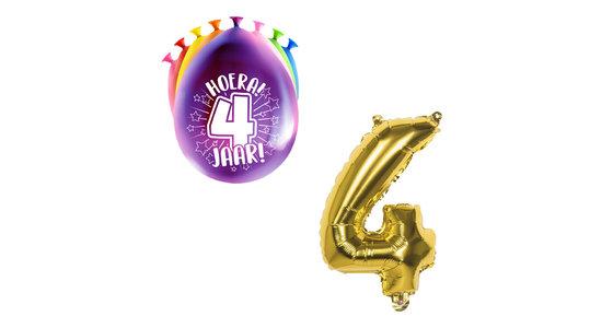 Ballonnen 4 Jaar