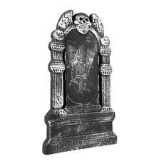 Grafsteen RIP Flying Skull - 50x30cm
