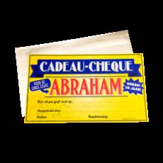 Abraham Cadeau Cheque