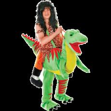 Jump-in Dinosaurus kostuum volwassenen