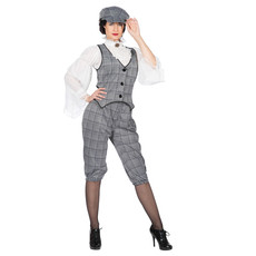 Roaring 20's Lizzie Peaky Blinders kostuum