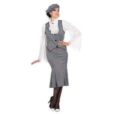 Roaring 20's Polly Peaky Blinders Kostuum Rok