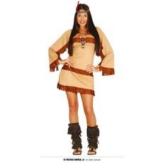 Pocahontas kostuum dame