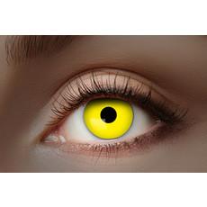 UV Flash Gele kleurlenzen 1 Maand