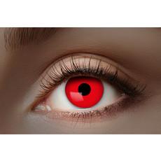 UV Flash Rode kleurlenzen 1 Maand
