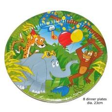 Bordjes Jungle Print (8st)