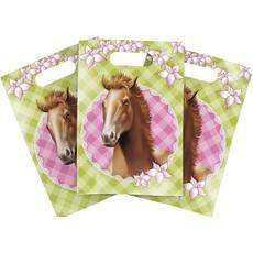 Uitdeelzakjes Paarden 6st
