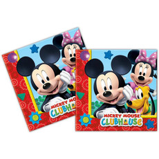 Mickey Mouse Servetten Clubhouse 20st